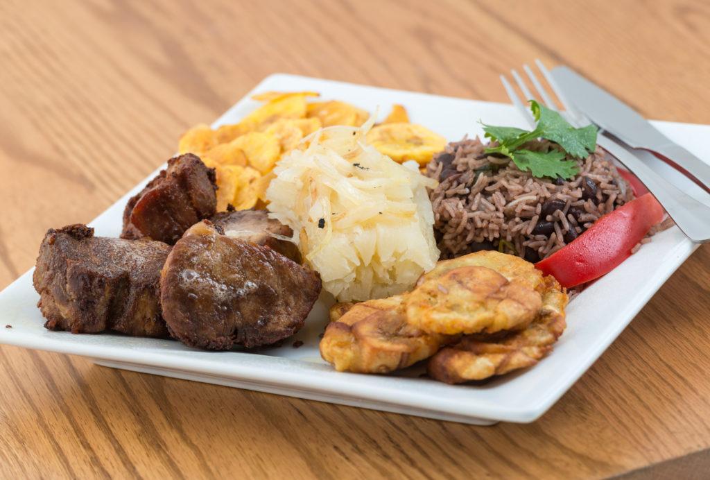 plate of cuban food
