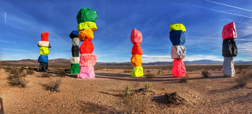 7 Magic Mountains Las Vegas