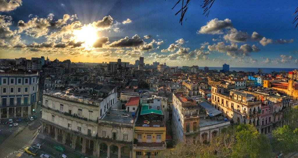 sunset Havana