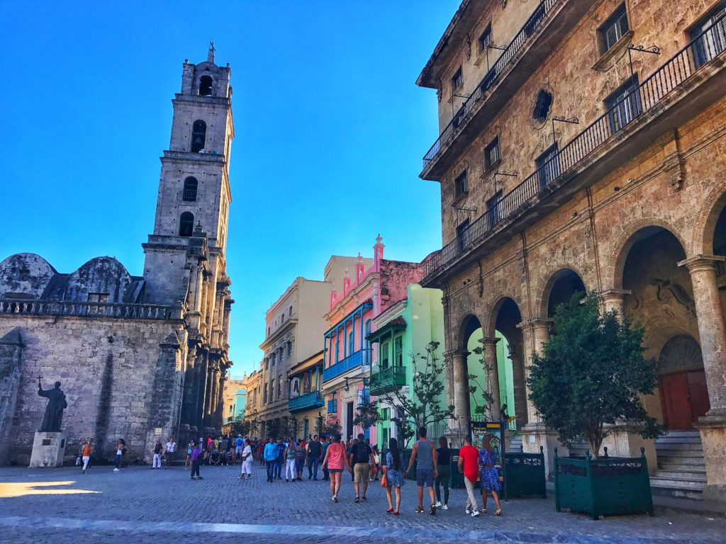 park in Old Havana