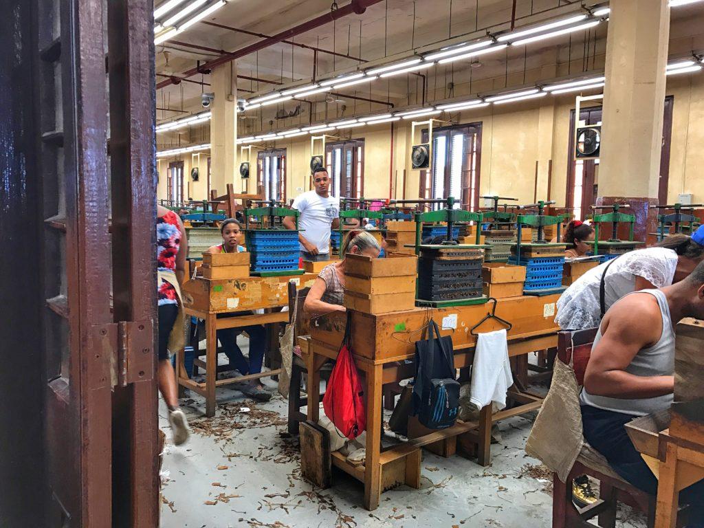 Partagas Cigar Factory