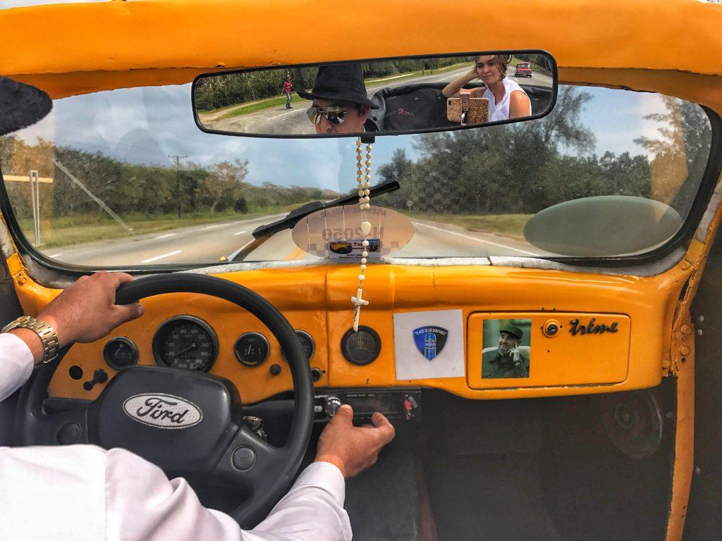 ford convertible in havana