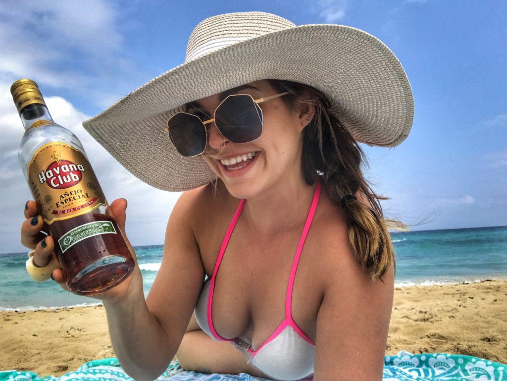 havana club on the beach