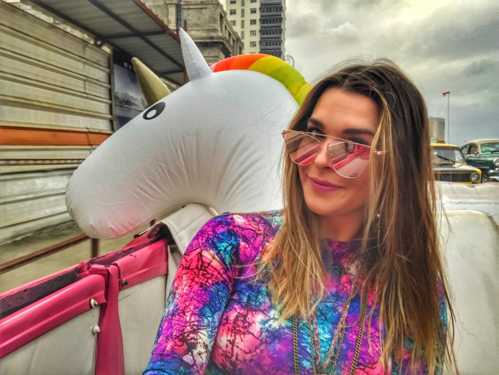 unicorn in Havana