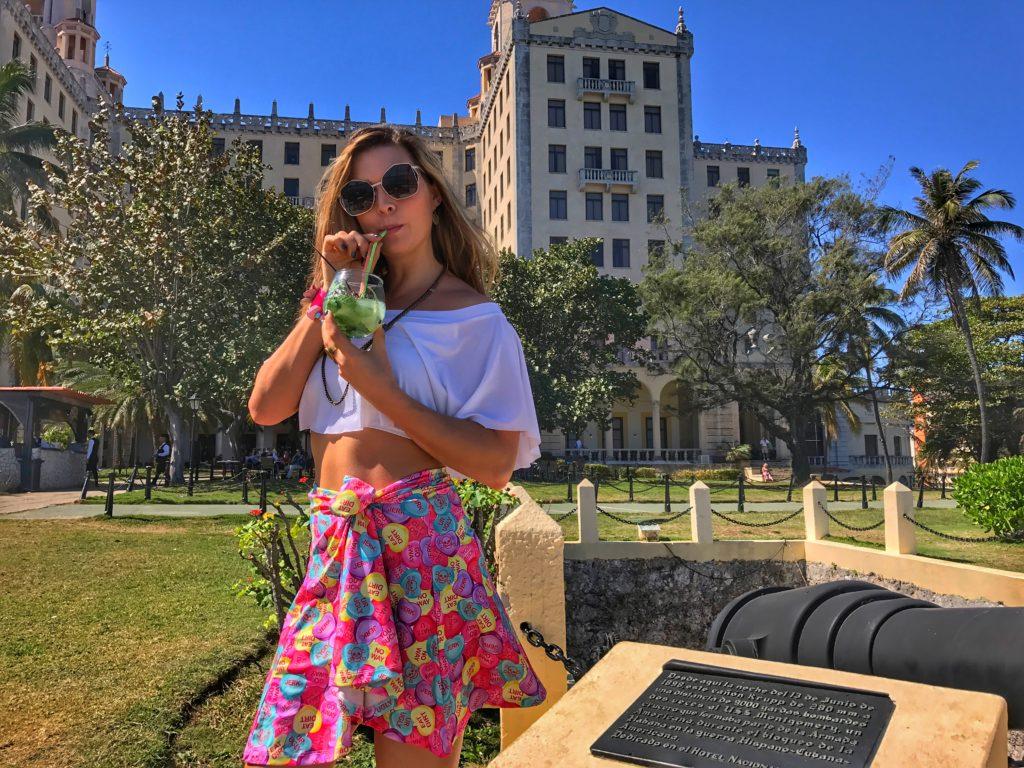 mojito at Hotel Nacionel in Cuba