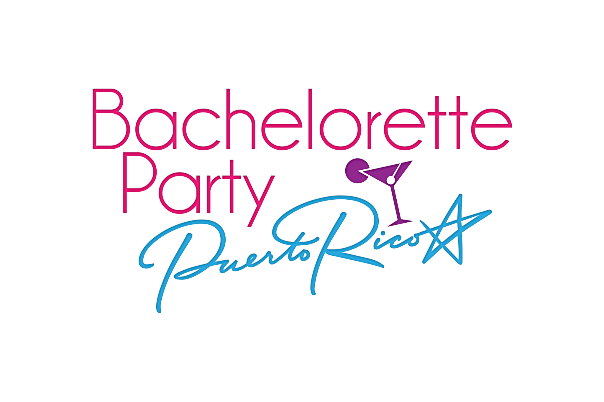 bachelorette party puerto rico logo