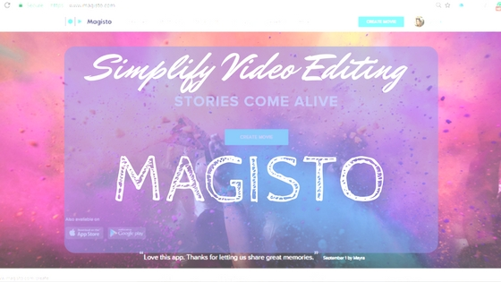 simplify video editing magisto home page