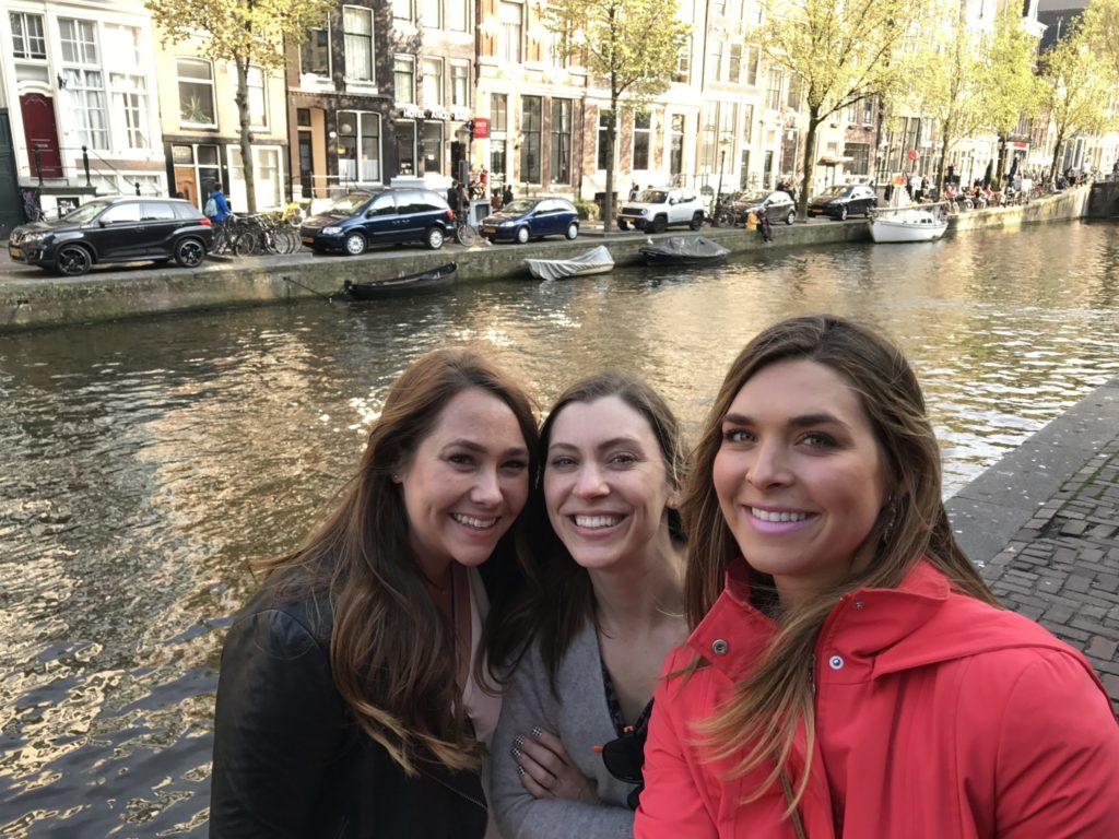 women in Amsterdam