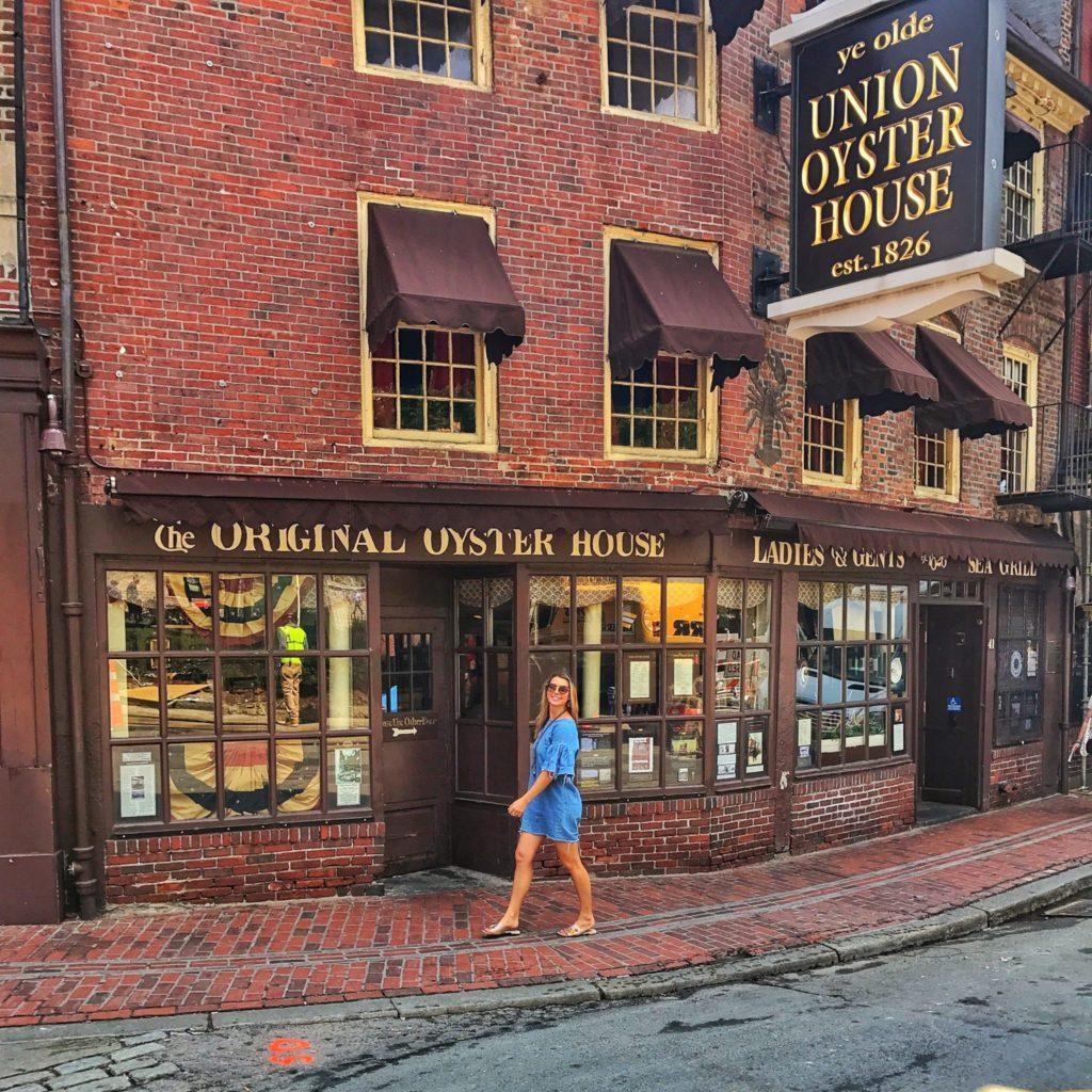 Woman in Boston