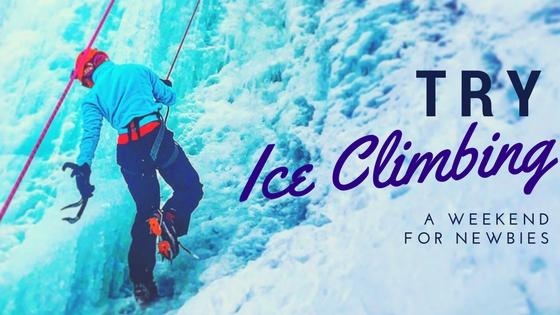 Cyndi Cramblett Ice Climbing