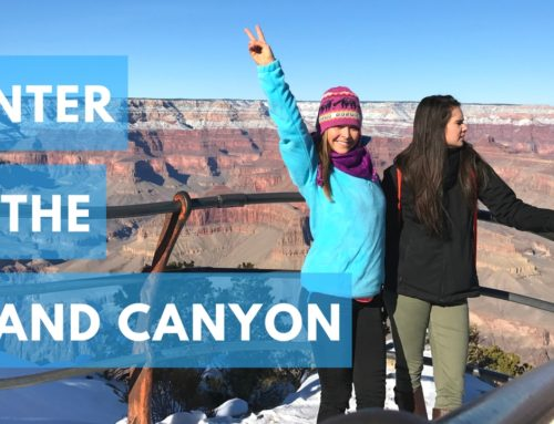 See the Grand Canyon in Winter