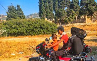 lebanese on motorcycle