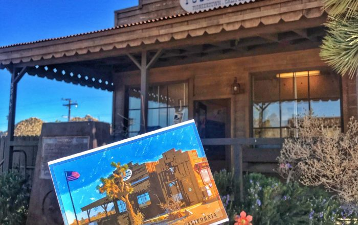 Pioneertown California post office