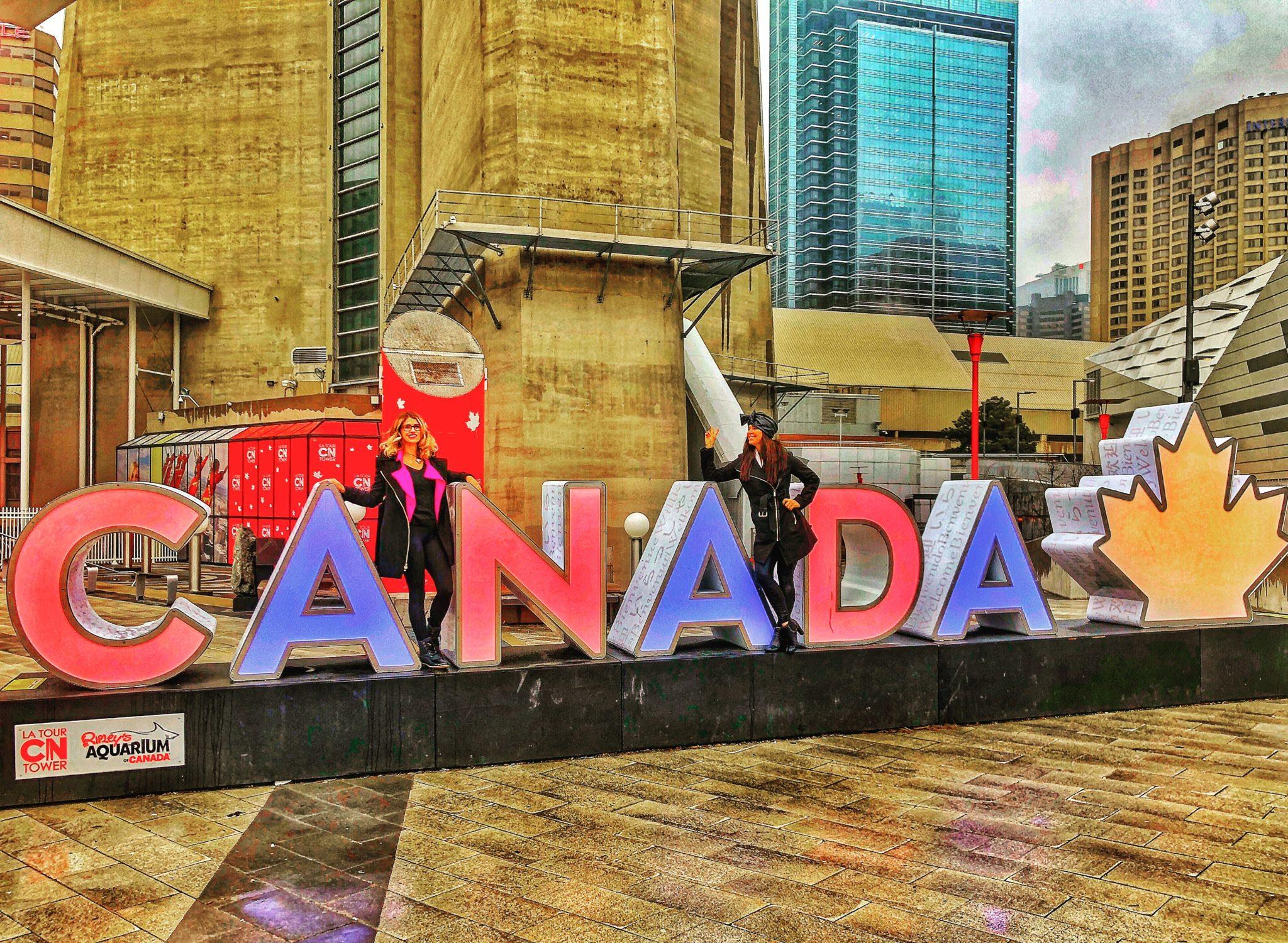 Canada Sign Toronto