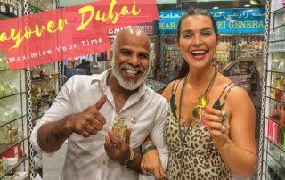 Cynthia Cramblett and Yusuf Ali perfumer