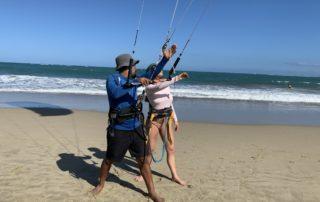 kitesurfing lessons cabaret Dominican Republic