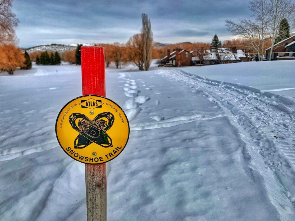 snowshoe Park City Utah