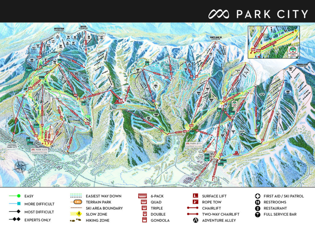 Park City Mountain Map