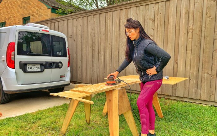 DIY campervan