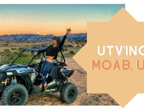UTV's in Moab, Utah!